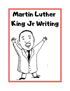 Martin Luther King Jr. Curriculum Review