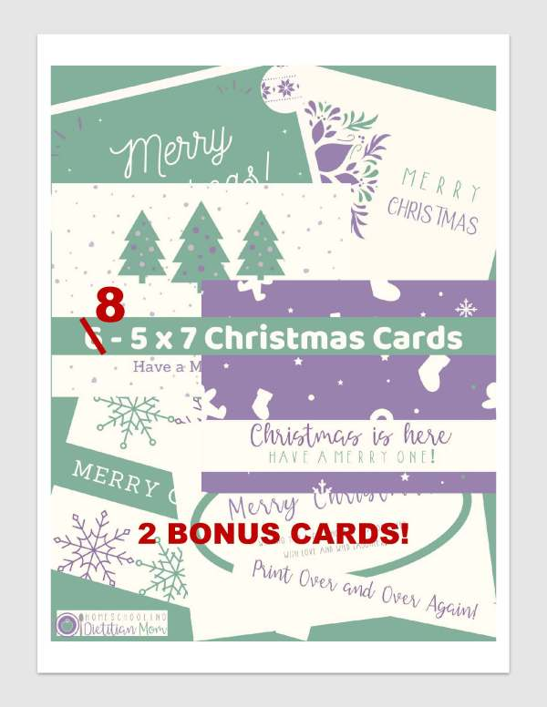 DIY christmas cards for kids