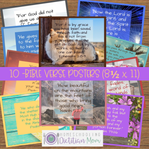 Bible Verse Posters and Cards