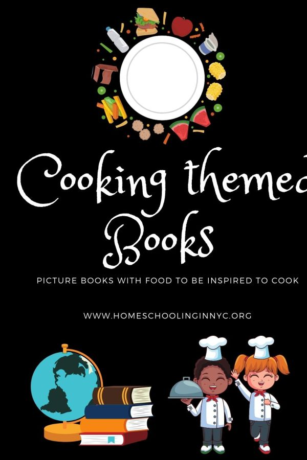 Cooking Themed books