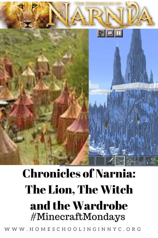 Chronicles of Narnia Minecraft Lesson