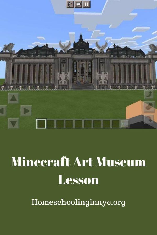 Minecraft Art Museum