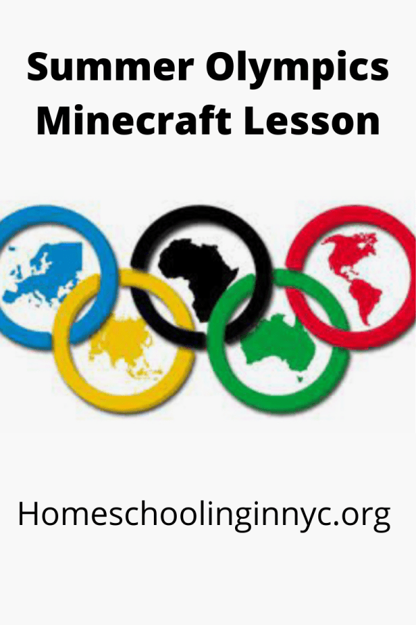 Summer Olympic Minecraft Lesson