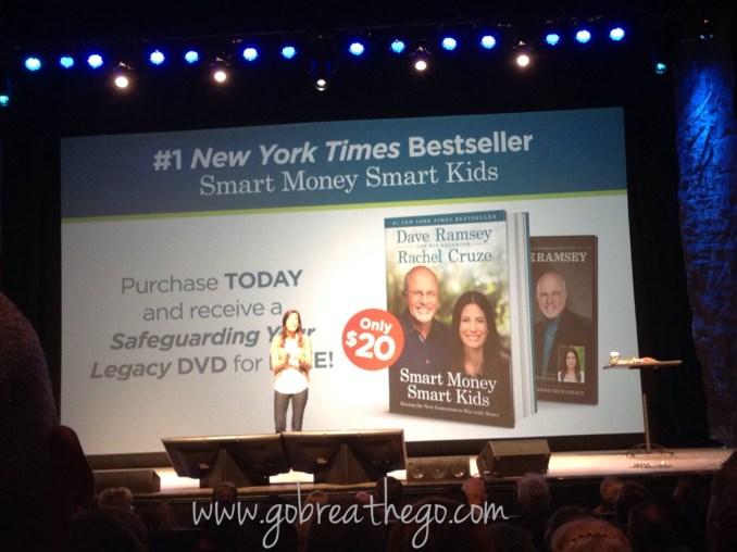 Rachel Cruze discussing the new book, Smart Money, Smart Kids