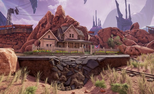Obduction - house