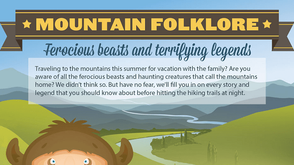 Mountain Folklore: Ferocious Beasts and Terrifying Legends