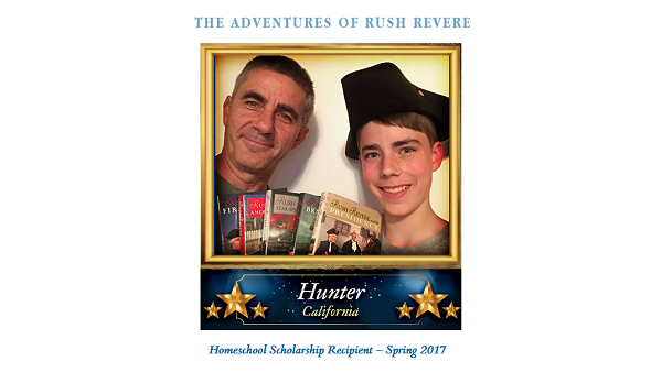 2017 Rush Revere Homeschool Scholarship Winner