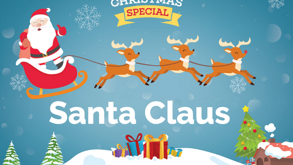 Christmas Special: Santa Claus Infographic