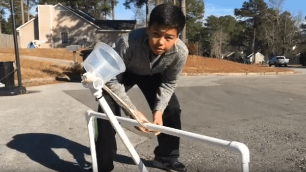 DIY PVC Catapults Large and Small