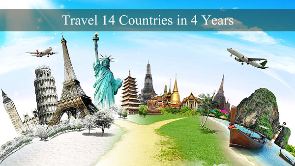 Student Travels to 14 Countries in Four Years