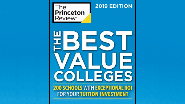 The Princeton Review's Best Value Colleges for 2019