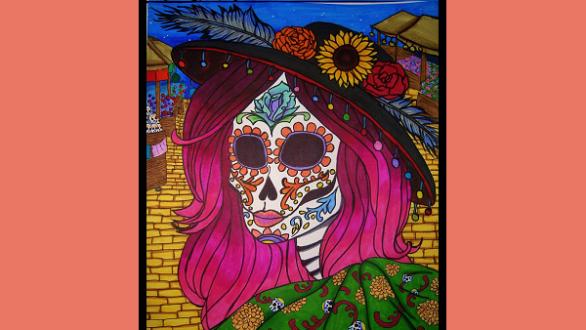 Catrina! Dia De los Muertos by EYKFAN