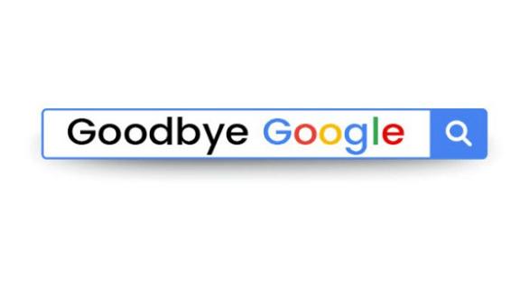 Goodbye to Google
