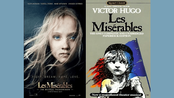 Les Misérables : The Book and the Movie  By HST