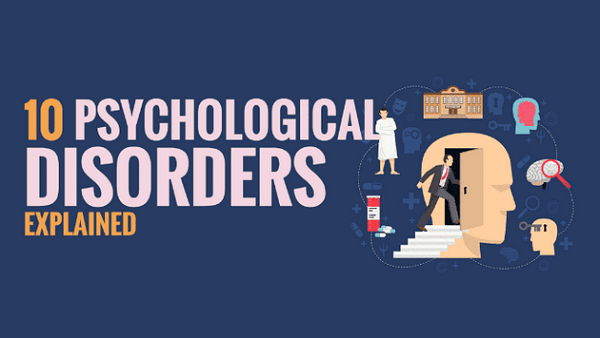 Ten Psychological Disorders Explained  By HST