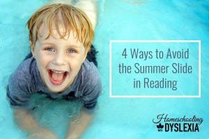 Avoid the summer slide in reading