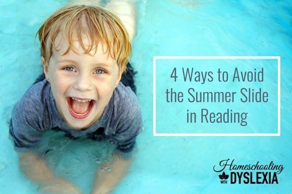 How to Avoid the Summer Slide in Reading