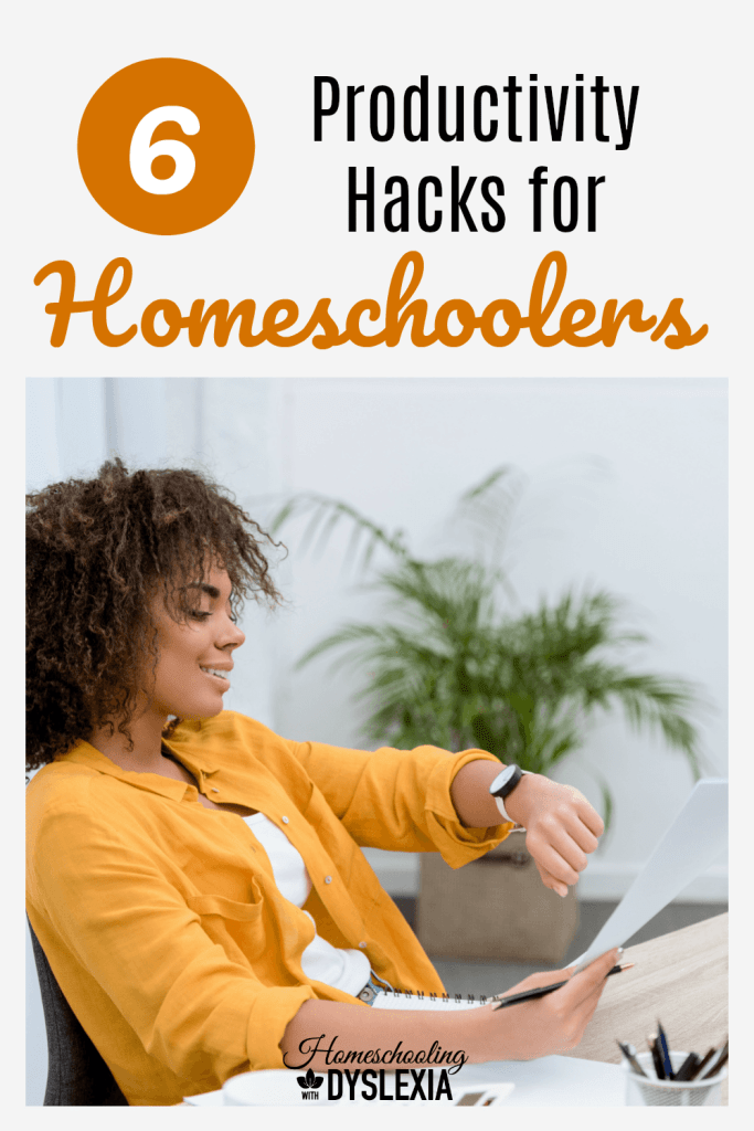 Having trouble with productivity in your homeschool? Become more consistent thanks to the best homeschool hacks from a veteran homeschool mom of eight!