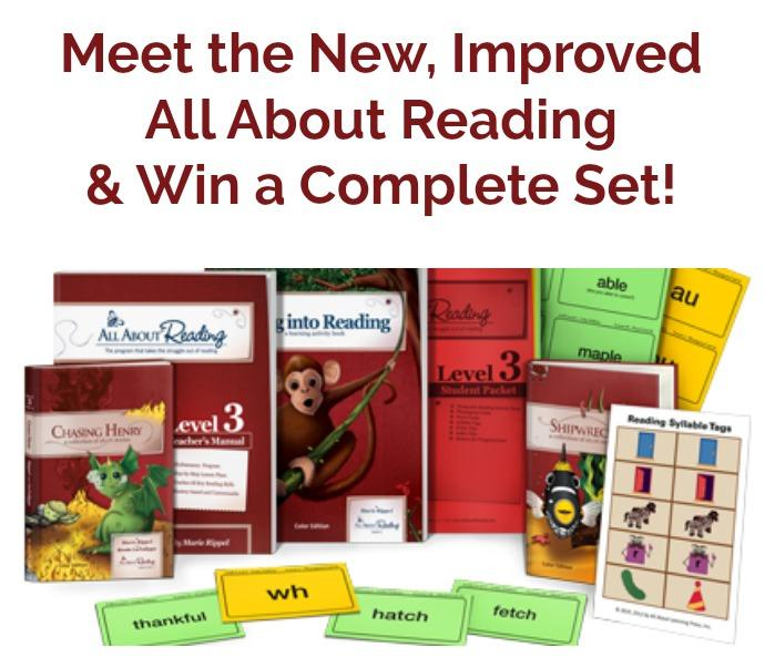 Meet the New, Improved All About Reading!