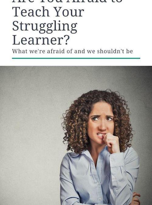 Are you Afraid to Teach Your Kids With Learning Differences?