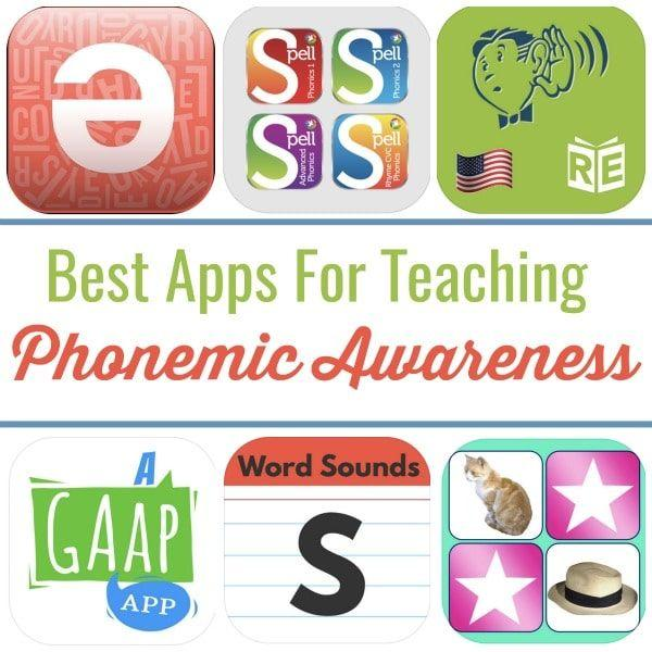 Apps for Teaching Phonemic Awareness