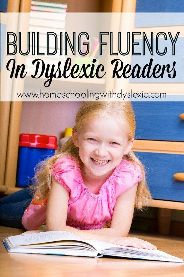 Building Fluency in Dyslexic Readers-Reading fluency is difficult for the dyslexic reader to attain because they are generally spending most of their brain power trying to decode the words on the page.