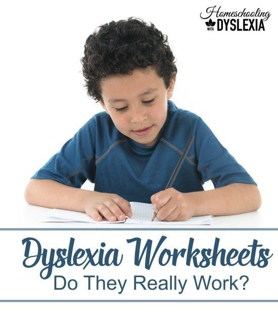What you need to know about dyslexia worksheets