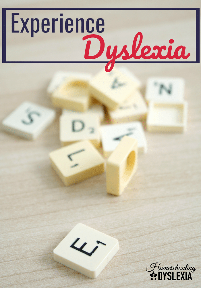 Have you ever wondered what your dyslexic child may be dealing with? Take a Dyslexia Simulation and experience what it is like to be dyslexic.