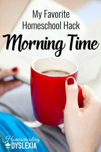 My Favorite Homeschool Hack – Morning Time