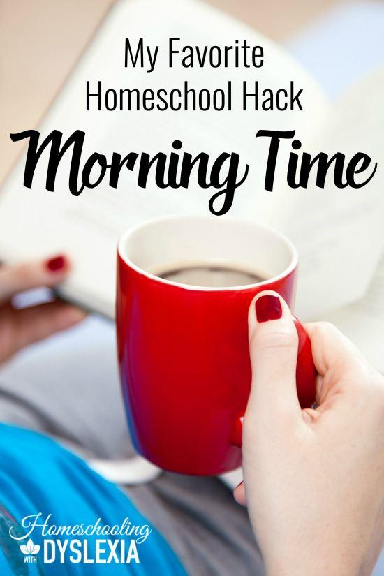 Favorite Homeschool Hack Morning Time