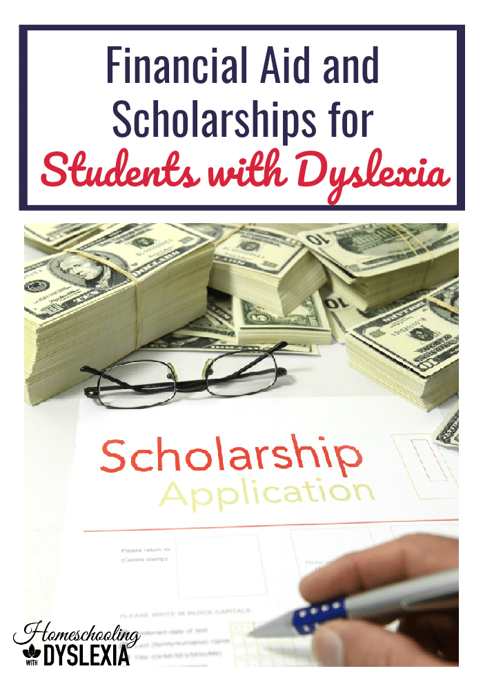 Your student with dyslexia may be prepared for college and even been accepted into their college of choice, but what about paying for college? Let's take a look at options for financial aid for students with dyslexia.