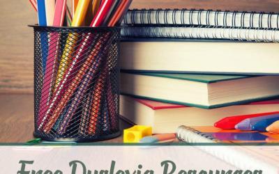 Free Dyslexia Resources