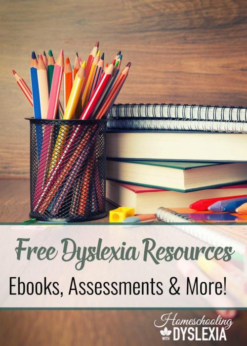 small resolution of Free Dyslexia Resources   Homeschooling with Dyslexia