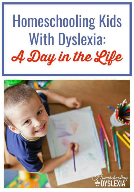 One thing I've always loved to read is homeschool day in the life posts. There's just something fascinating about seeing how other families teach their kids at home. Here is a peek into our homeschool with dyslexia.