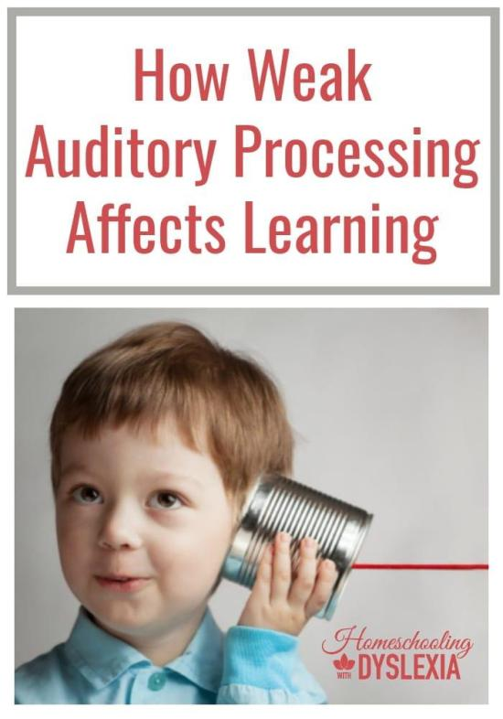Auditory processing disorder is associated with many kinds of learning struggles.