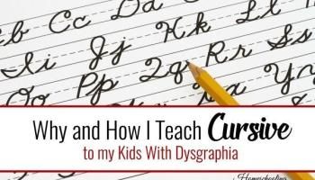 How i teach handwriting to my kids with dysgraphia homeschooling why and how i teach cursive to my kids with dysgraphia fandeluxe Gallery