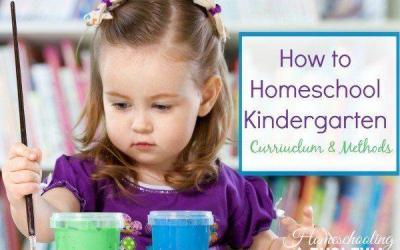 Homeschool Kindergarten:  Curriculum and Methods