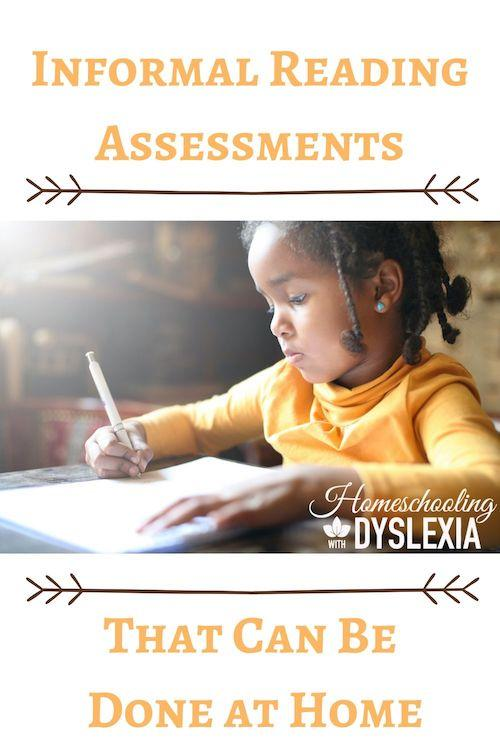 Use informal reading assessments to monitor reading progress.