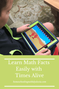 Learn math facts app