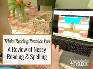 Make Reading Practice Fun:  Nessy Reading and Spelling Review