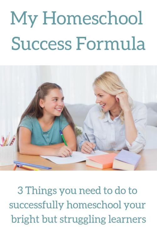 Are you looking for a formula for success as you homeschool your struggling learners? This is the closest thing you will find to a formula for a more peaceful, purposeful homeschool.
