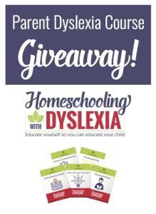 Dyslexia Giveaway