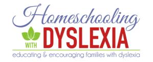 homeschool dyslexia
