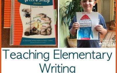 Teaching Elementary Writing:  WriteShop Junior Review