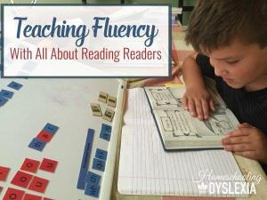 Building Fluency With All About Reading Readers