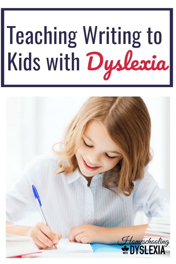 As with reading and spelling, teaching writing to kids with dyslexia can be done and done well with the right methods!