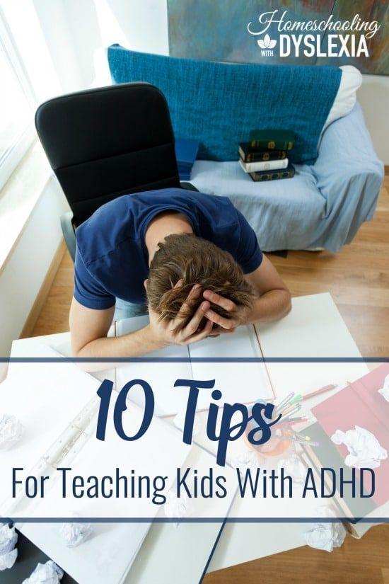 Kids with ADD and ADHD thrive in the homeschool environment because of the flexibility and freedom to individualize their schedules, curricula and teaching methods. Here are some methods for teaching kids with ADD