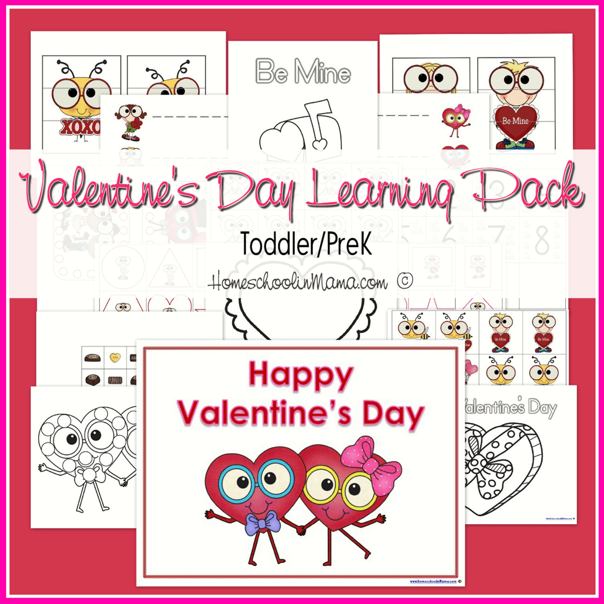 Valentine S Day Learning Packs