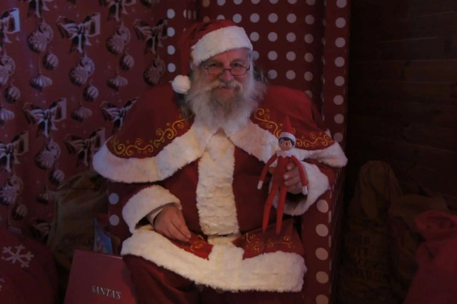 Elf on the shelf going home to santa
