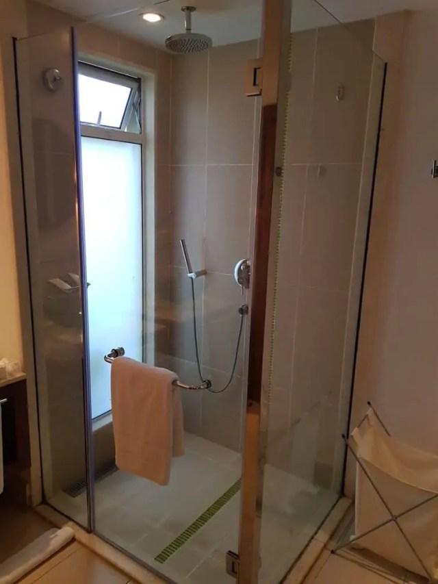 Tamassa Resort, Mauritius Room 1008 Shower